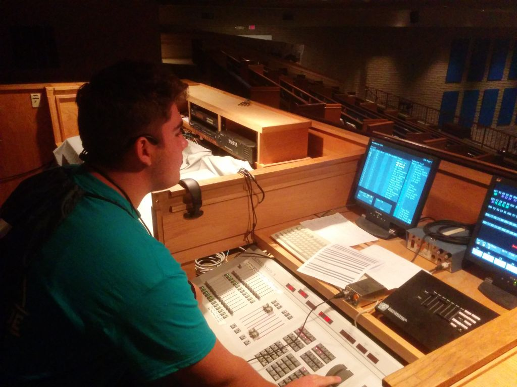 VBS Tech helper David