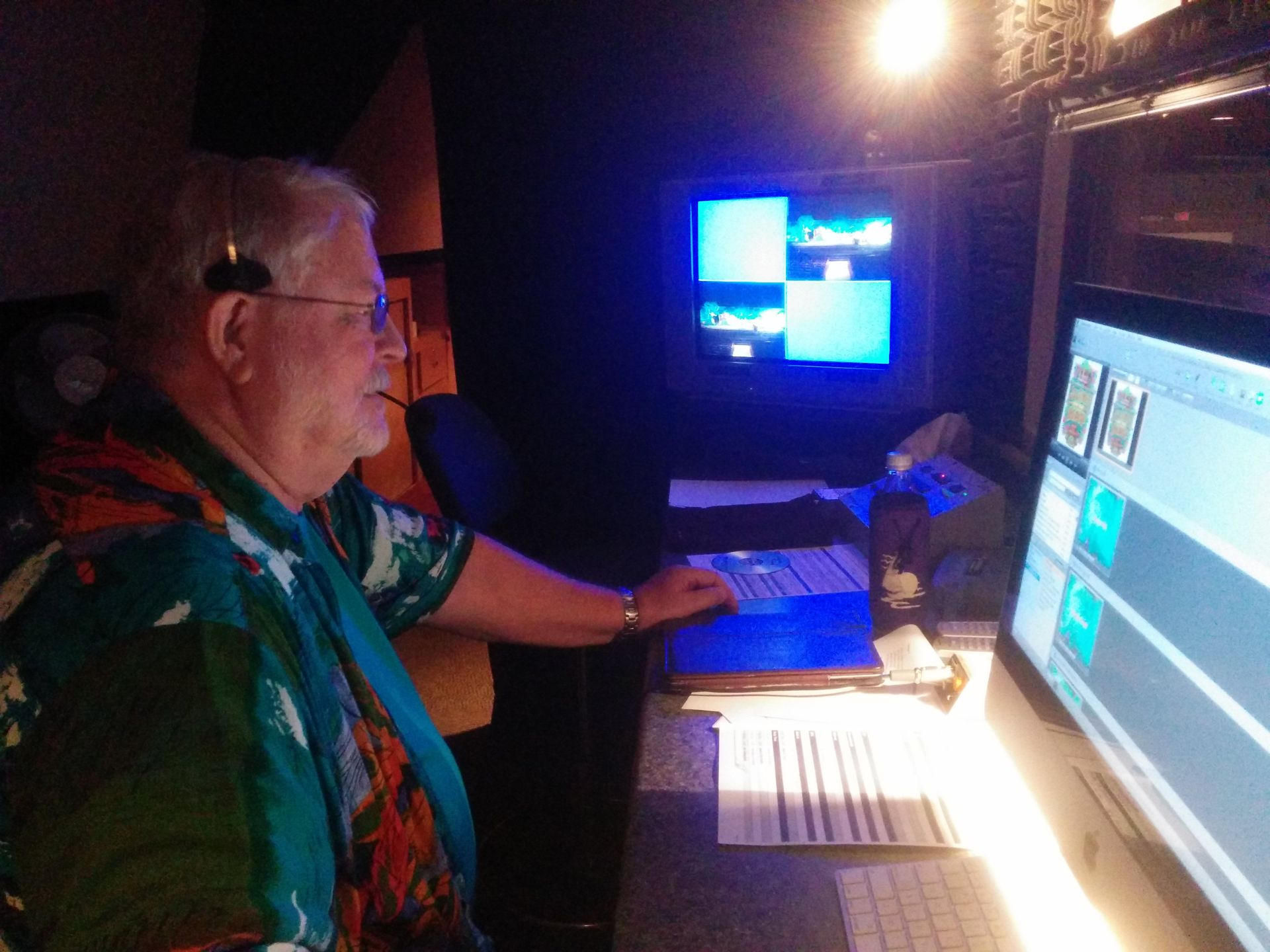 VBS Tech helper John